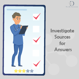 Investigate Sources for Answers